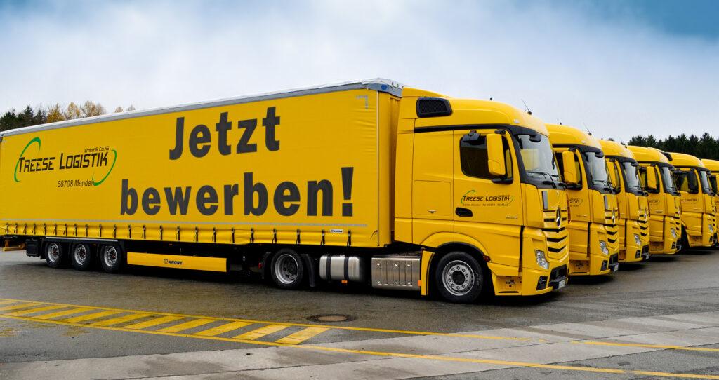 """Foto mit Text """"Jetzt Bewerben!"""""""