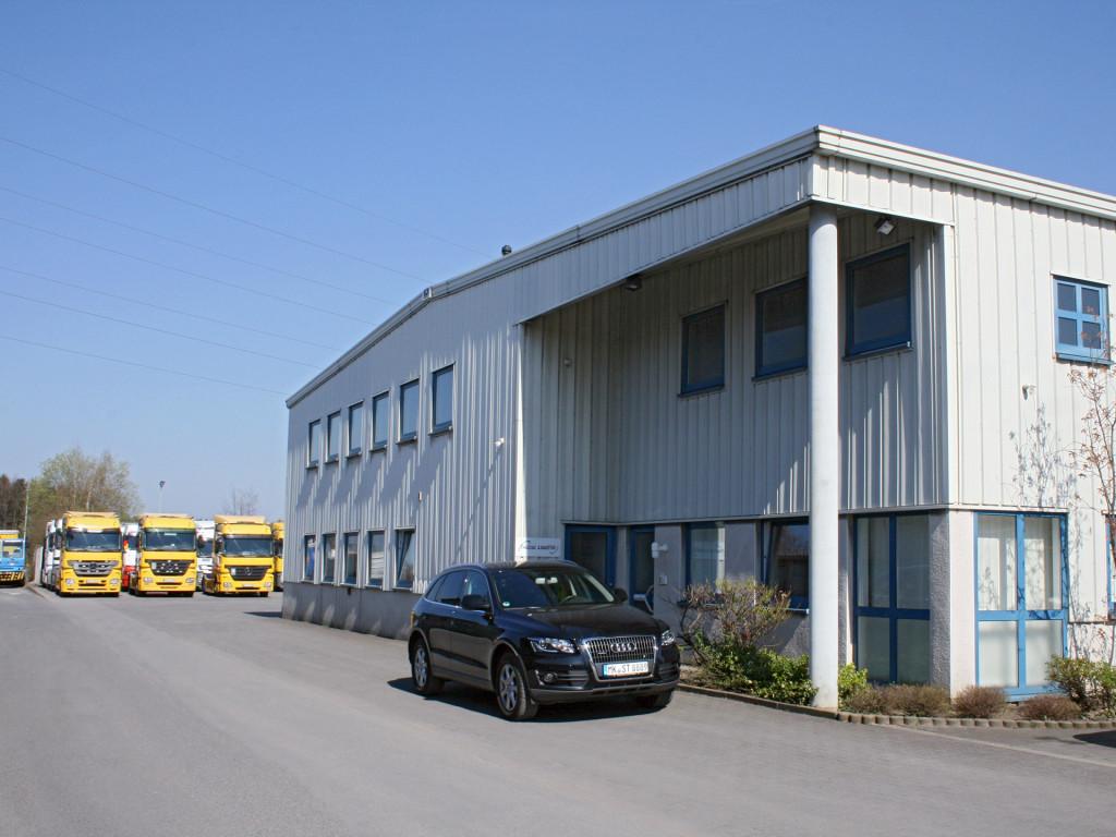 Das Firmengebäude der Treese Logistik GmbH & Co. KG
